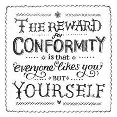Your reward. Random Doodle No.19 Conformity | Flickr - Photo Sharing!