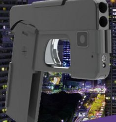 The design of the Ideal Conceal Pistol makes it look like a smartphone in a case when it is folded up