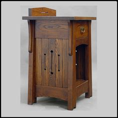 Arts and Crafts Mackintosh Style Ash End Table or by DRYADSTUDIOS