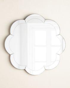 Eva Scalloped Wall Mirror | Neiman Marcus
