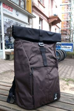 Chrome Yalta 2.0 Nylon   Rolltop Backpack   java