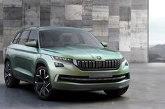 Skoda VisionS SUV Concept Revealed: Skoda revealed today their first SUV concept, which is called the VisionS. The Skoda VisionS SUV concept is going to have Volkswagen, Skoda Suv, Diesel Tuning, Automobile Magazine, 4x4, Assurance Auto, Honda, 7 Places, Auto Retro