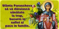 Felicitari de Sfanta Parascheva: 14 Octombrie - mesajeurarifelicitari.com