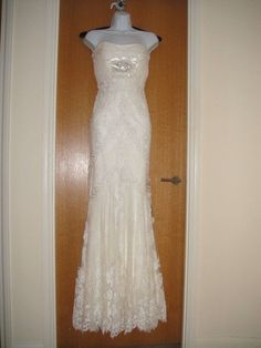 **NEW** Stunning Pronovias Dietrich wedding dress RRP £1790 in Clothes, Shoes & Accessories, Wedding & Formal Occasion, Wedding Dresses | eBay