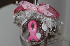 Breast Cancer ornament or Purple decorations for Relay.  Creative people will use all the colors of cancer.