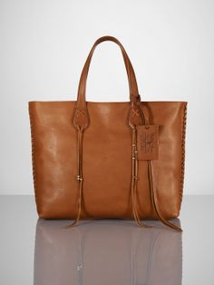 16e3b6794c0f Ralph Lauren Vachetta Braided Zip Tote-- this bag is everything a bag  should be