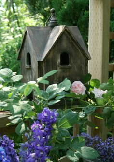 I think this is the cutest bird house I have ever seen.