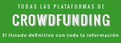 Principales plataformas de crowdfunding nacionales e internacionales