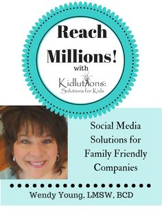 How can Kidlutions help your #company w/ a social media campaign that reaches MILLIONS? #SM #biz #pr #branding #marketing