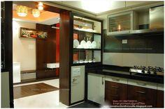 Green Homes: Modern Kitchen Interior Design Kitchen Cabinet Remodel, Modern Kitchen Cabinets, Kitchen Flooring, Kitchen Furniture, Furniture Design, Kitchen Units, Kitchen Room Design, Kitchen Cabinet Design, Interior Design Kitchen