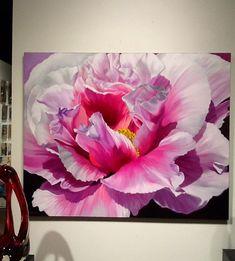 ღღ Don Berger x Watercolor Flowers, Watercolor Paintings, Abstract Flower Art, Arte Floral, Acrylic Art, Botanical Art, Painting Inspiration, Creative Art, Painting & Drawing