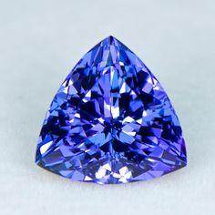 1050 - 3.95ct Tanzanite - Tanzania 10.16 x 6.67 mm clean, nice cut, standard heat, $1850 shipped