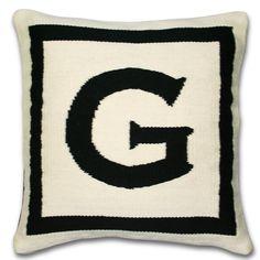 Jonathan Adler Letter Pillow in Letter Pillows