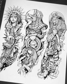 Half Sleeve Tattoos Drawings, Best Sleeve Tattoos, Tattoo Sleeve Designs, Tattoo Designs Men, Leg Tattoos, Black Tattoos, Body Art Tattoos, Knuckle Tattoos, Forearm Sleeve Tattoos