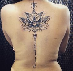 Beautiful Lotus tattoo