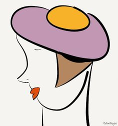hat fashion by CforStyle Flat As A Pancake, The World Is Flat, Happy As A Clam, Flat Earth Society, Hat, Illustrations, Fashion, Paintings, Chip Hat