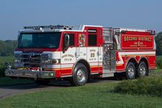 Second District Volunteer Fire Department and Rescue Squad, Valley Lee, MD - Engine 63 - 2011 Pierce Velocity Pumper Tanker
