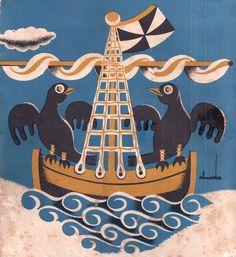 Almada Negreiros, LISBOA, 1930                                                                                                                                                                                 Mais