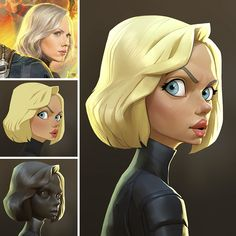 Marvel Character Caricatures