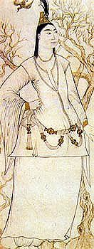 Lady in White_Peter Mundy, an English traveller, visited Istanbul in 1618. His illustrated manuscript, A briefe relation of the Turckes, their Kings, Emperors or Grandsigneurs, their conquests, religion, customes, habbits at Constantinople, etc., gives an Englishman's account of Ottoman court life.