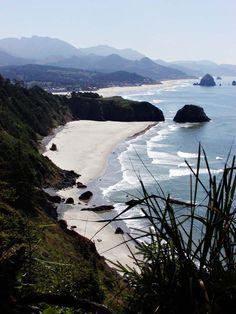 Indian Beach, Cannon Beach, Haystack Rock