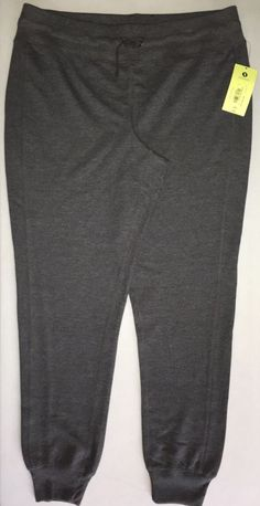 402a69734d NWT Xersion Ladies Lounge Athletic Sweat Pants Dark Gray, Tapered, Size  Large #Xersion #TrackSweatPants