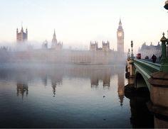 Акварельный Шерлок - Вестминстерский мост