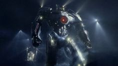 Gypsy Danger, from Pacific Rim.