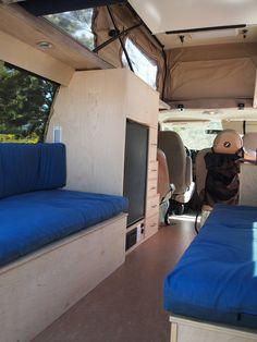 Poptop Van for Sale: 2008 Ford E350 Sportsmobile