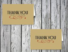 Curvy Bridal Shower & Wedding Thank You Notes / by RejoiceGraphics