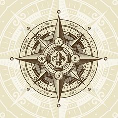 Buy Vintage Nautical Wind Rose by iatsun on GraphicRiver. Vintage nautical wind rose in retro woodcut style. Vector illustration with clipping mask. Nautical Compass Tattoo, Map Compass, Compass Rose, Compass Vector, Single Rose Tattoos, Airplane Tattoos, Wind Rose, Mariners Compass, Vintage Nautical