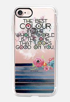 Casetify iPhone 7 Classic Grip Case - The Best Colour by Li Zamperini Art #Casetify
