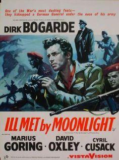 Ill Met by Moonlight (1958) D/Prod/Sc: Michael Powell and Emeric Pressburger.