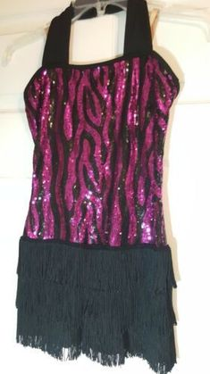 Girl Flapper Dancer Dress Halloween Costume Gatsby Pink Black Size L Sequin Halloween Costume Accessories, Halloween Dress, Halloween Costumes, Girls Dancewear, Frozen Elsa Dress, Kids Costumes Girls, Princess Dress Kids, Unicorn Dress, Dresses Kids Girl