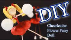 DIY Cheerleader Doll   DIY Doll Making  DIY Flower Fairy Doll   How to Make a Flower Fairy - YouTube Diy Dolls Making, Knitting Loom Dolls, Christmas Angels, Christmas Ornaments, Doll Tutorial, Fairy Dolls, Doll Crafts, Diy Flowers, Fun Projects