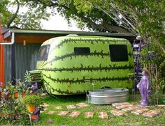 Would You Vacation in A Giant Watermelon?