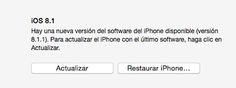 iOS 8.1.1 ya está aquí ¡abstenerse jailbreakers!