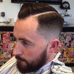 Back at it Tuesday, come by for a trim ✂️ #slick #pomp #pompadour #pomade #vintage #dapper #style #mensstyle #menshair #menshaircut #mensgrooming #hair #beards #razorpart #barber #barbering #barbergang #barberlife #ukbarber #internationalbarbers #nwb...