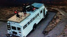 Tell us a bit about the way in which the idea to create a bus into a house on wheels came about. You should be mindful that you're residing in a bus and will want to park in weird areas sometimes. The perfect bus isn't going to amazingly appear before … School Bus Conversion, Camper Conversion, Vw T1 Camper, Bus Remodel, Trailer Remodel, School Bus House, Converted School Bus, Rv Bus, Bus Motorhome
