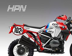 "Check out new work on my @Behance portfolio: ""BMW HPH ""GS BAJA PROTO"""" http://on.be.net/1Ii0aG4"