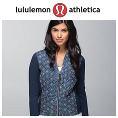 (Lululemon) NWOT Cardigan & Again Jacket 6 Lowest priced on here! Please no low offers. This is an adorable jacket in perfect shape. Never worn. Size 6! No trades on this item! Thanks. lululemon athletica Jackets & Coats