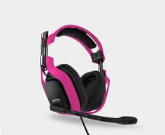 A40 PC Headset, pink or orange would be awesome. Not exactly cheap though, more pinning so I can find them for myself later.