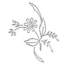 fleurs - flowers - Blumen - flores - Broderie d'Antan