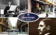 """""""Un restaurante en la calle de un músico"""". Artículo en el blog Oído Cocina! del Restaurante Aitzgorri, ubicado en la Calle Usandizaga, calle que toma nombre del músico Usandizaga. #calle #street #donostia #gros #usandizaga"""