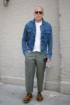 Four days of the New York Fashion Week in 35 straight -stile photographs   GQ.ru