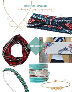 Tori Spelling's Fall Must-Haves Giveaway
