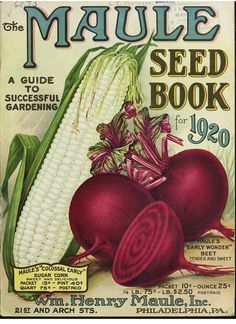 The Maule seed book for 1920