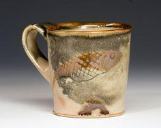 Bruce Gholson - Fish Mug by Bulldog Pottery, via Flickr
