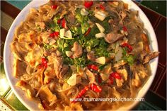 Lamb Stew aka Yang Rou Pao Mo. note: try with river noodles