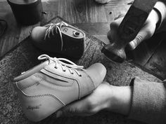 Hugotti has been hand making baby shoes in Europe – hand making each shoe.